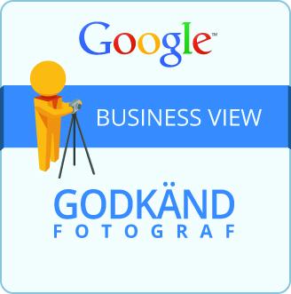 Johan Lundberg, Hemsida på en dag, är godkänd fotograf för Google Business View. Göteborg och Västra Götaland.